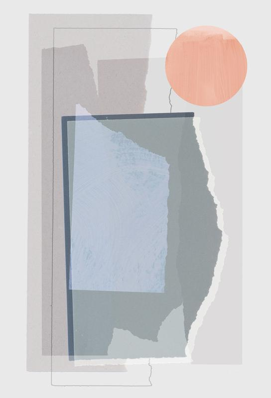 Pieces 10B acrylglas print