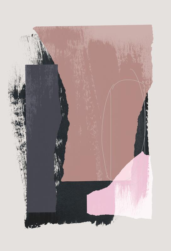 Pieces 14 acrylglas print