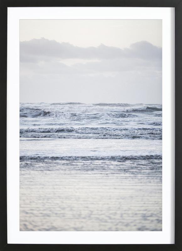 The Sea ingelijste print
