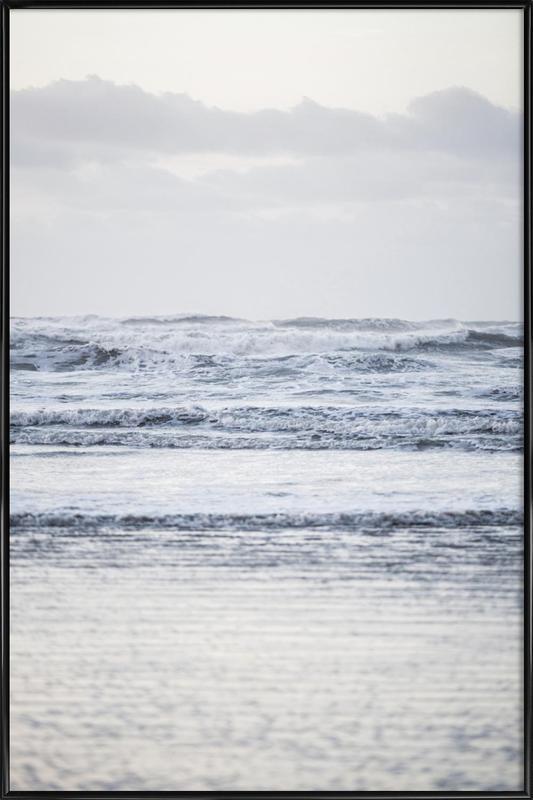 The Sea -Bild mit Kunststoffrahmen