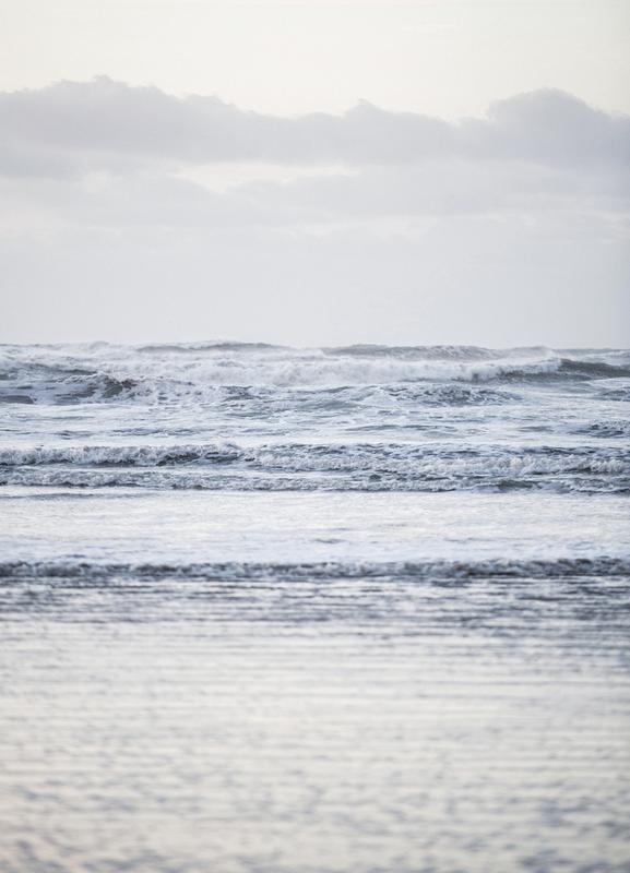 The Sea canvas doek