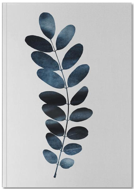 Watercolor Leaves 11 Notebook
