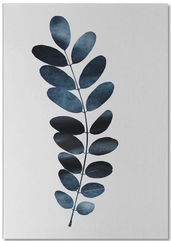 Watercolor Leaves 11 -Notizblock