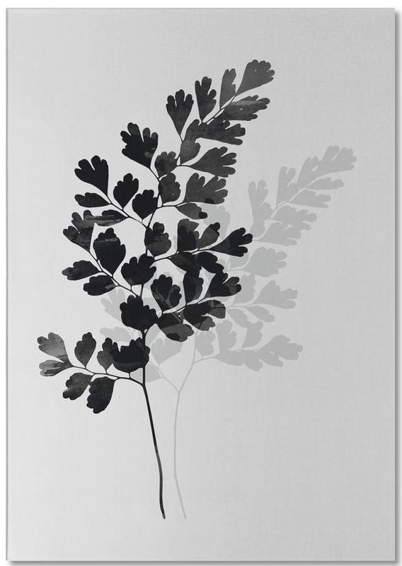Watercolor Leaves 14 -Notizblock