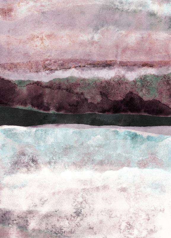 Watercolors 24 canvas doek