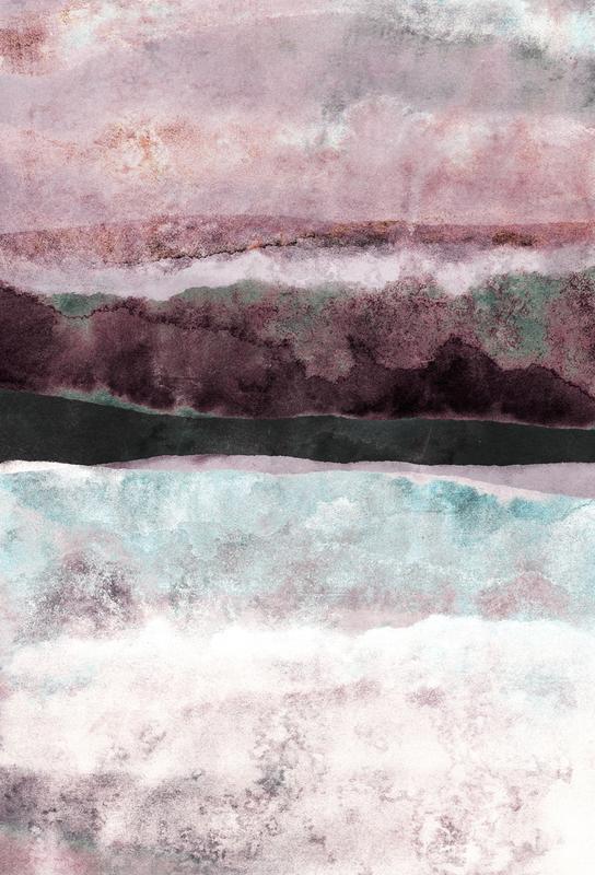 Watercolors 24 Impression sur alu-Dibond