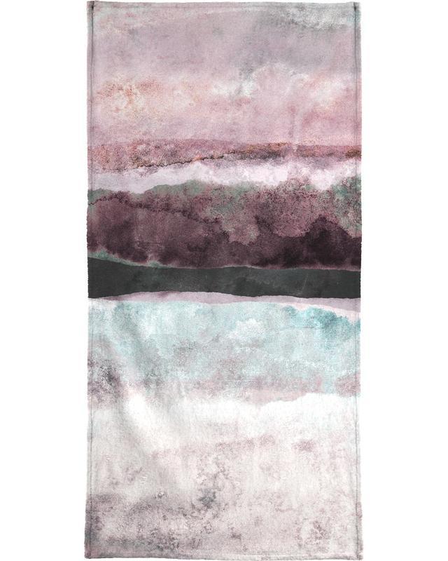 Watercolors 24 Bath Towel