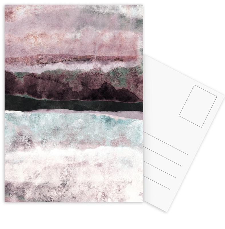 Watercolors 24 cartes postales