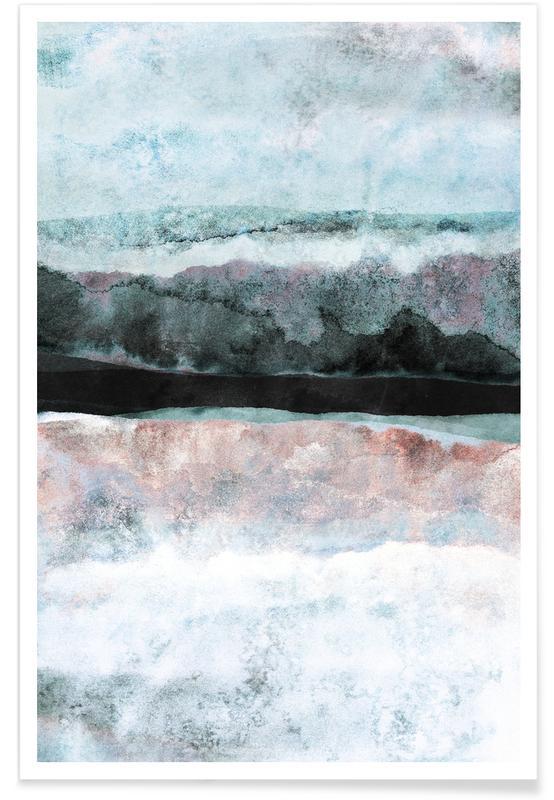 Watercolors 24X Poster