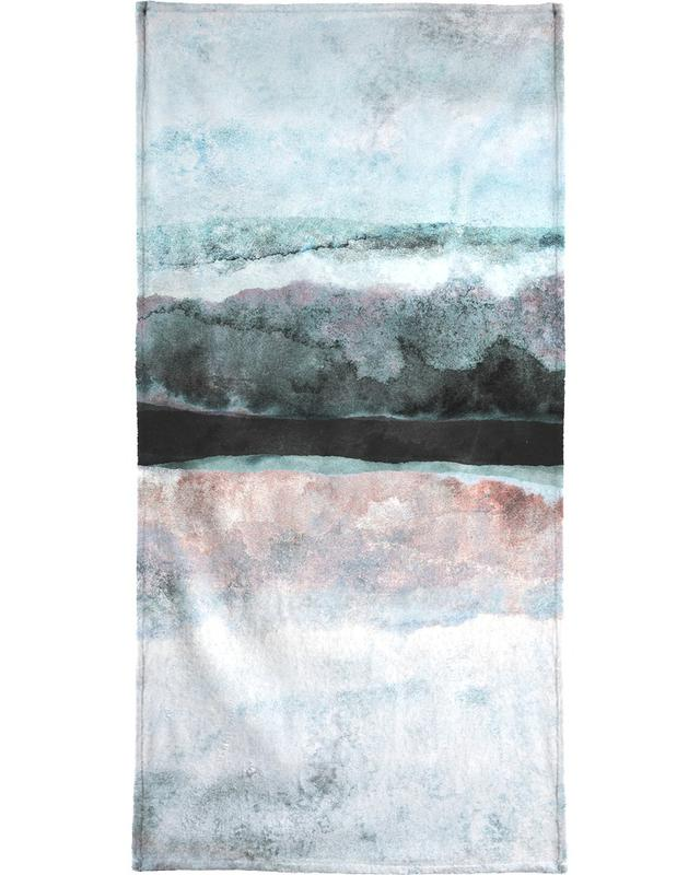 Watercolors 24X Beach Towel
