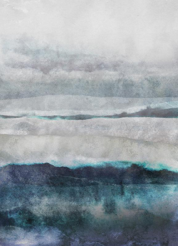 Watercolors 29 canvas doek