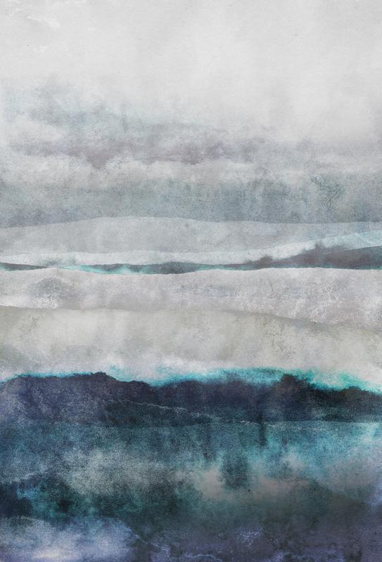 Watercolors 29 acrylglas print