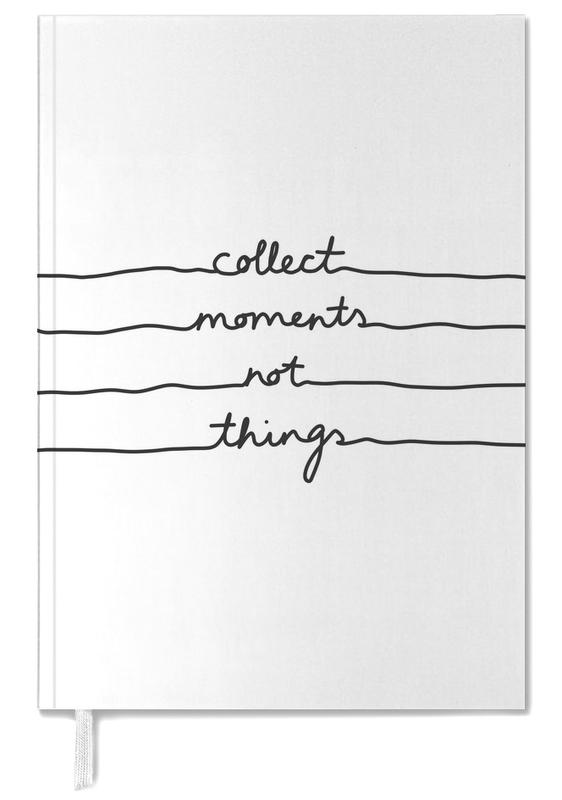 Collect Moments Not Things Personal Planner