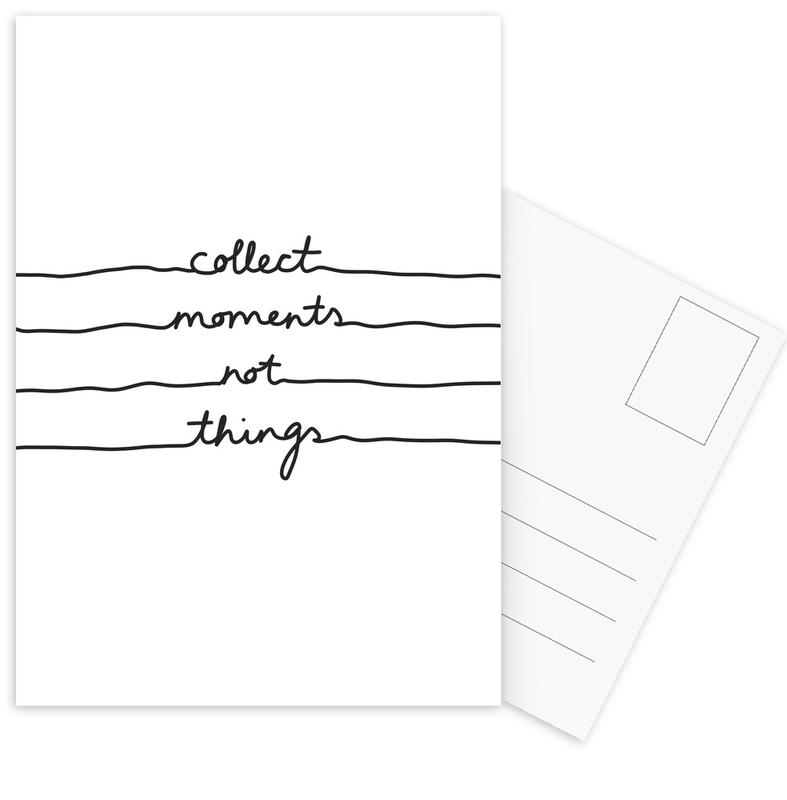 Collect Moments Not Things Postcard Set