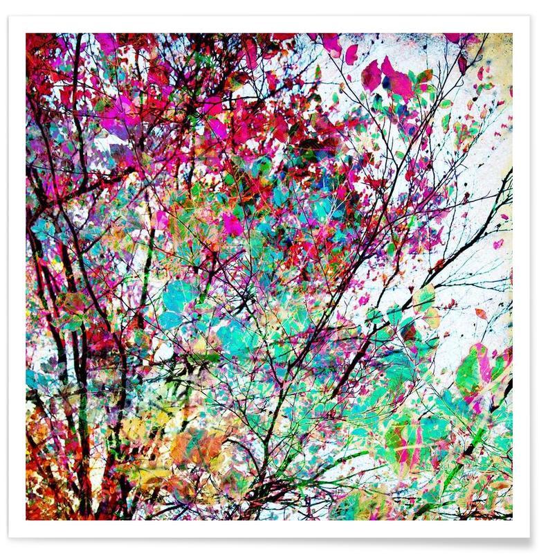 Arbres, Autumn 8 affiche