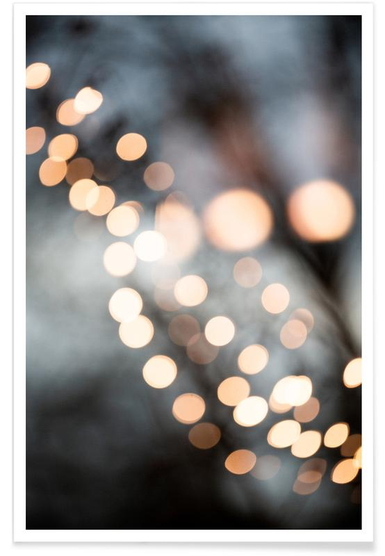 Christmas, Winter Lights Poster