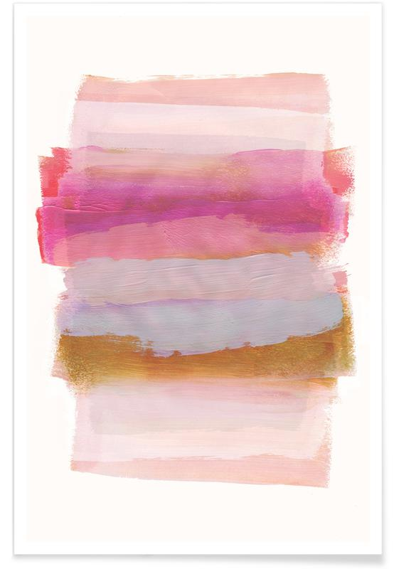 , Abstract Brush Strokes 45 Poster
