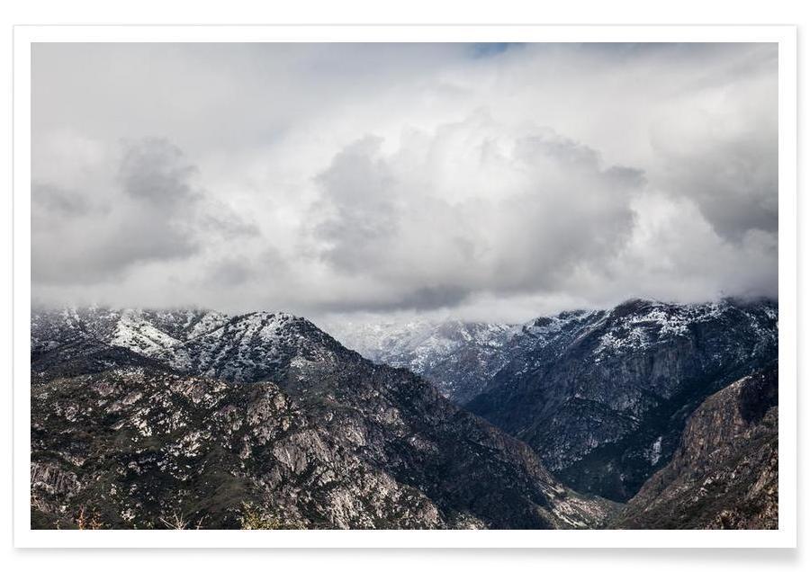 Montagnes, Somewhere V affiche