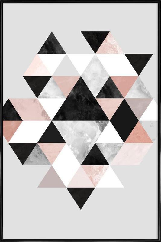 Graphic 202 -Bild mit Kunststoffrahmen