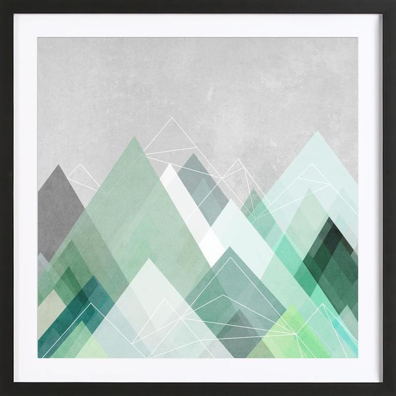 Graphic 107 Framed Print
