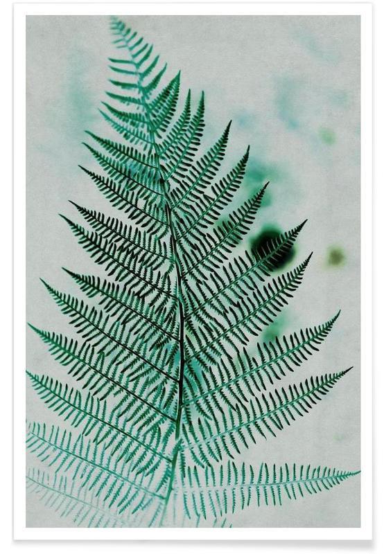 Feuilles & Plantes, Green Leaf 2 affiche