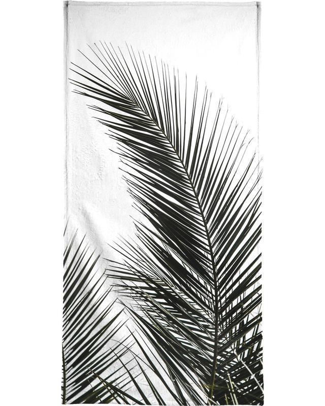 Palm Leaves 1 Beach Towel