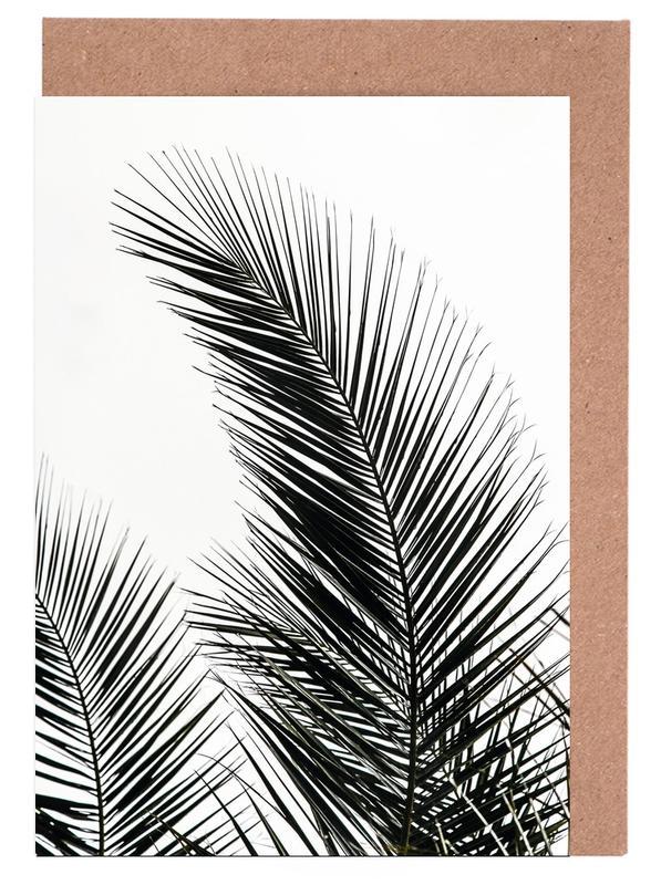 Palmen, Palm Leaves 1 -Grußkarten-Set