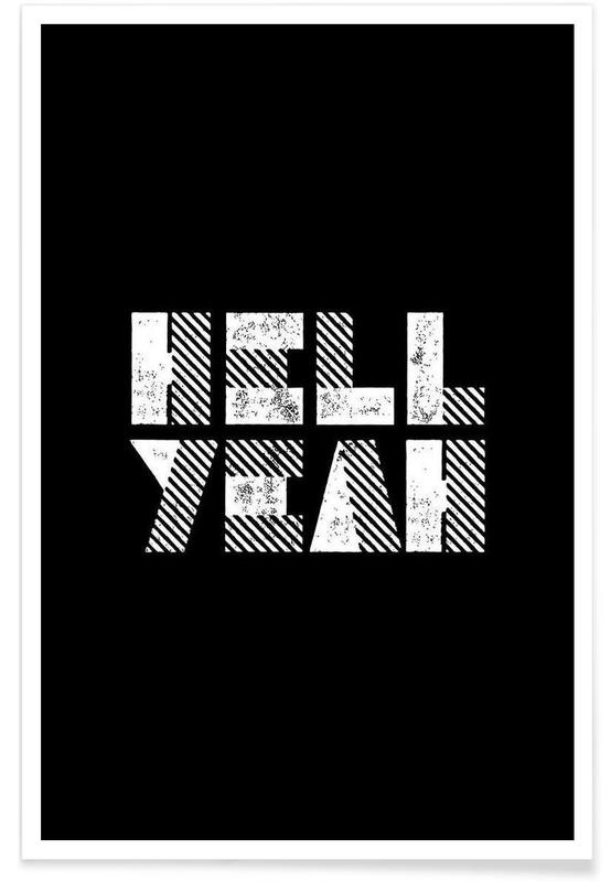 Hell Yeah -Poster