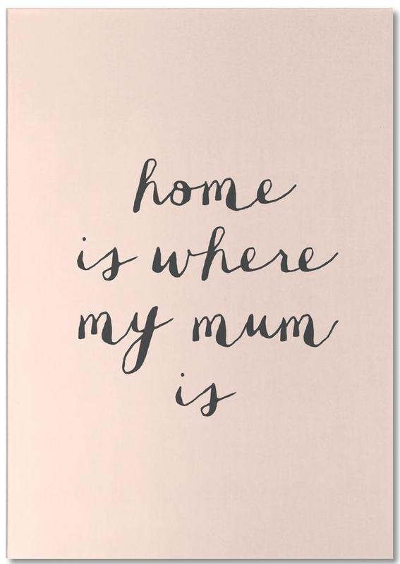 Home Is where My Mum Is Notepad