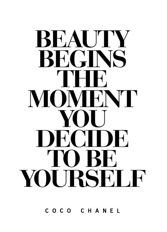 Beauty Begins -Leinwandbild