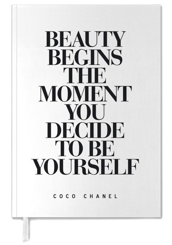 Zwart en wit, Quotes en slogans, Motivatie, Beauty Begins agenda