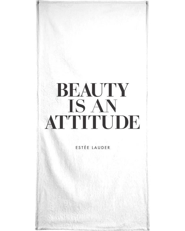 Beauty Is Bath Towel