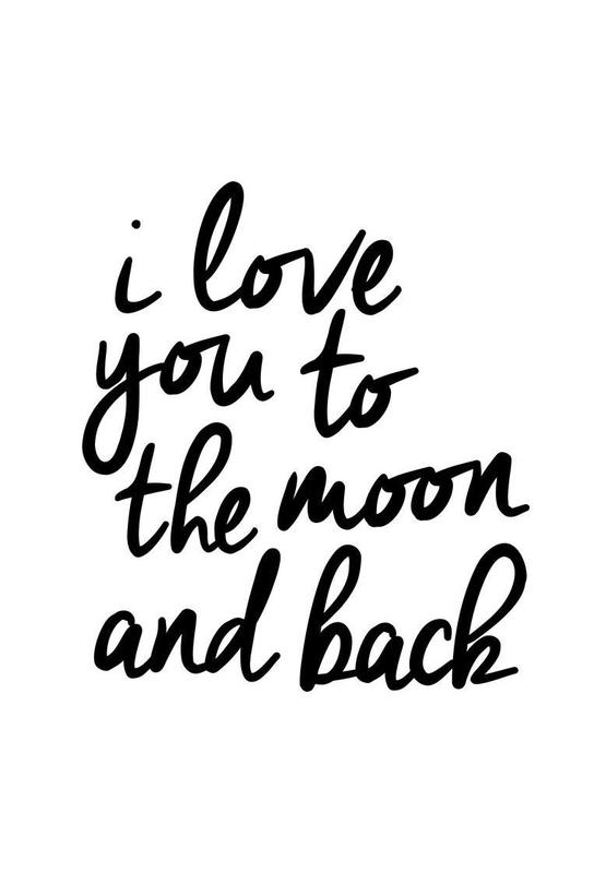 I Love You to the Moon and Back -Alubild