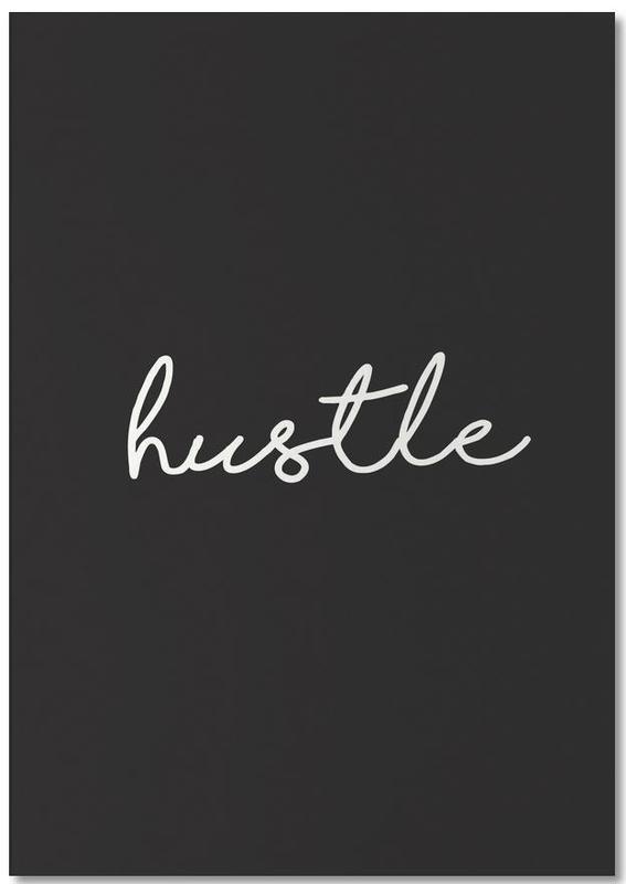 Hustle -Notizblock