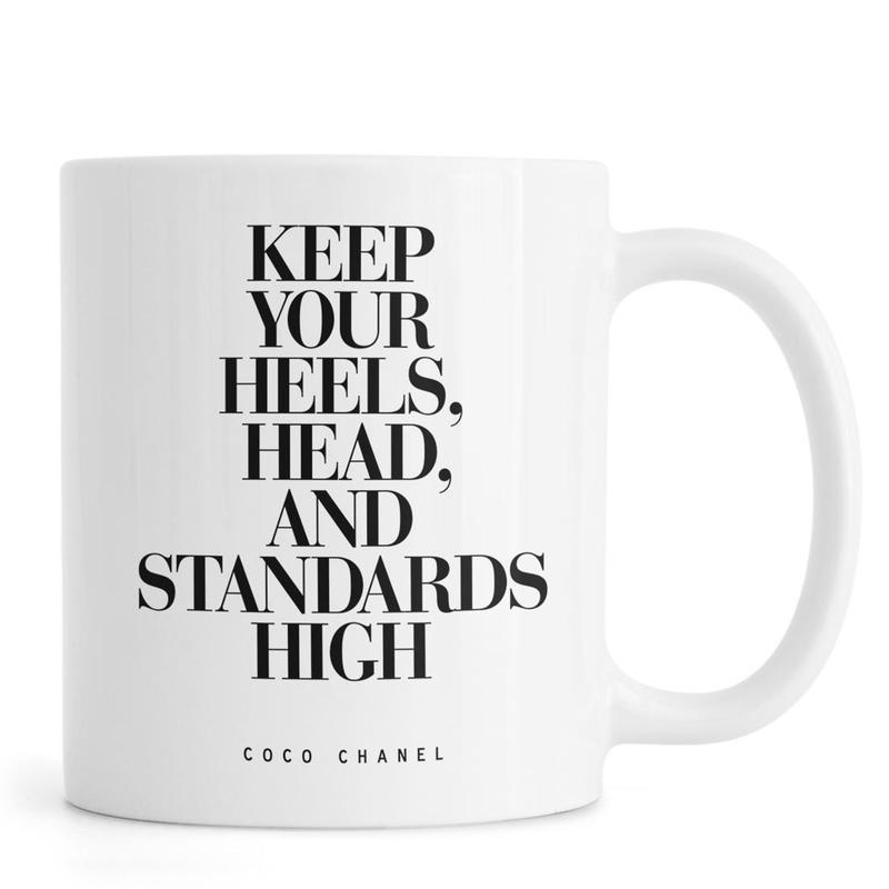 Keep Your Heels -Tasse