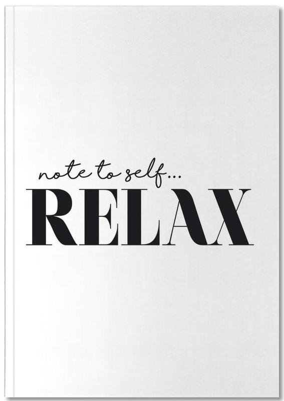 Note To Self Relax Notebook