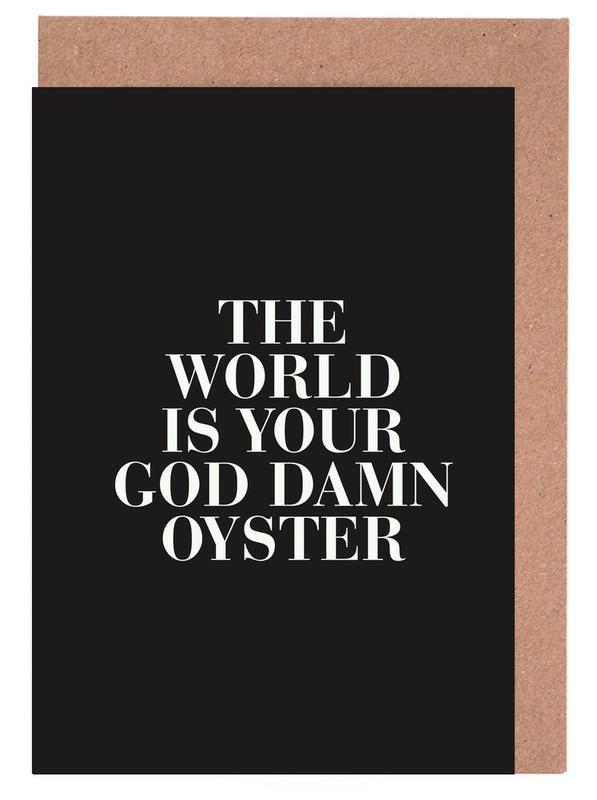 The World Greeting Card Set