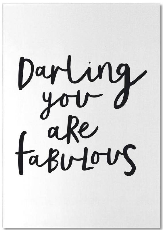 Darling You Are Fabulous Notepad