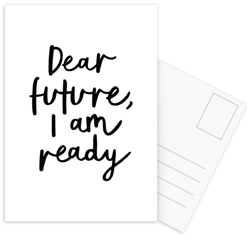 Dear Future I Am Ready Postcard Set
