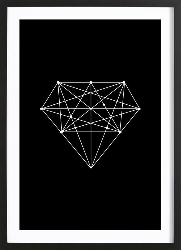Diamond Framed Print