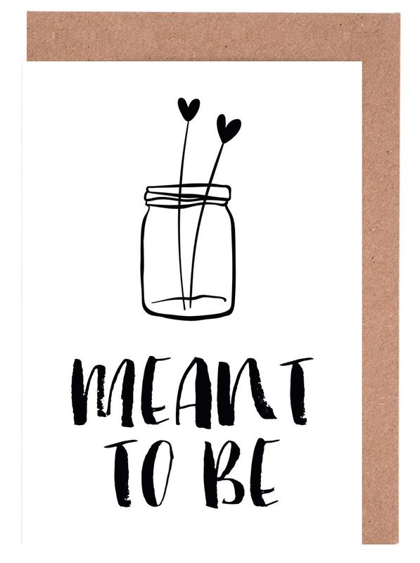 Meant To Be Greeting Card Set