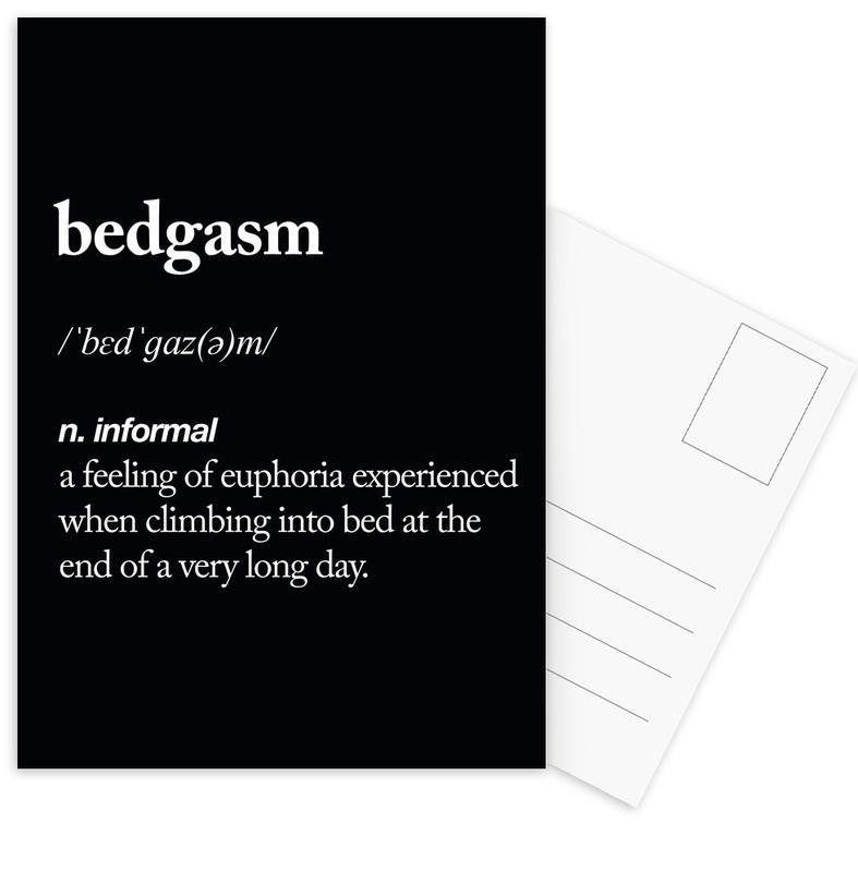 Bedgasm Postcard Set