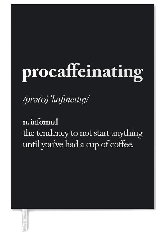 Procaffeinating Personal Planner