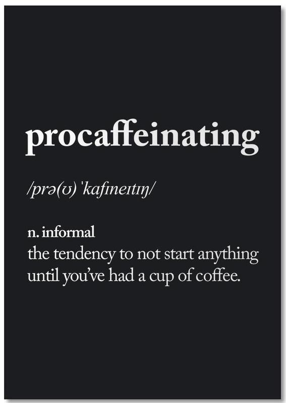 Procaffeinating Notebook