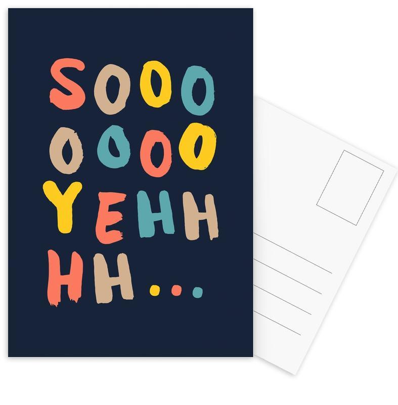 Soooo Yeah -Postkartenset