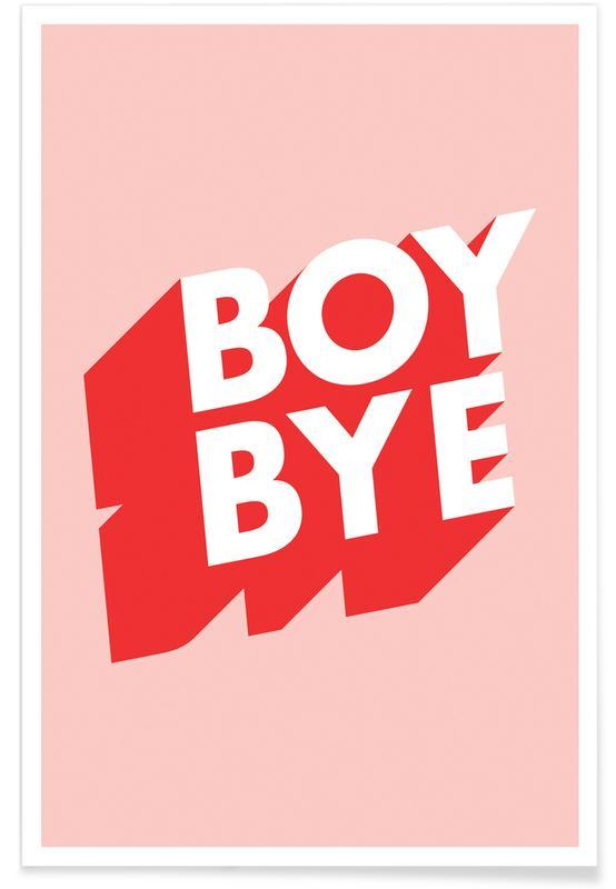 , Boy Bye poster