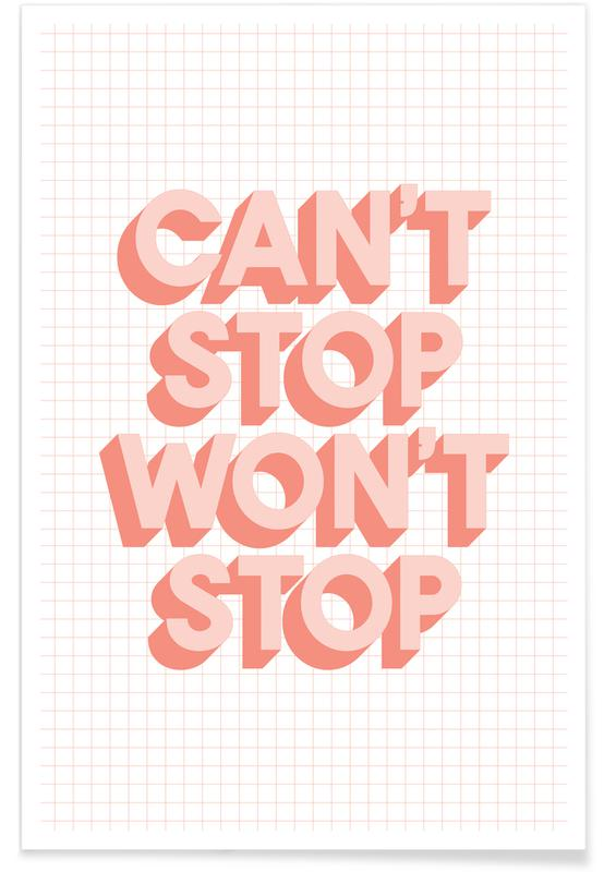 Can't Stop Won't Stop affiche