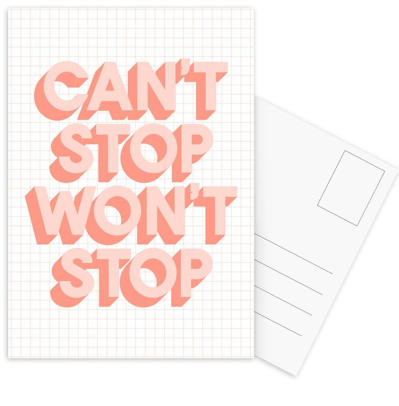 Can't Stop Won't Stop cartes postales