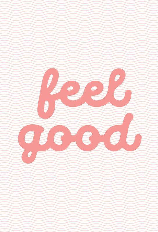 Feel Good Impression sur alu-Dibond