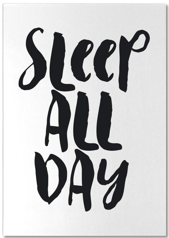 Sleep All Day bloc-notes